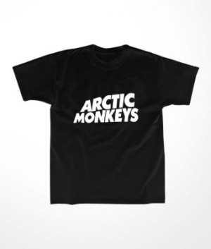 Camiseta Infantil Arctic Monkeys
