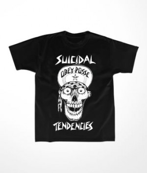 Camiseta Infantil Suicidal Tendencies