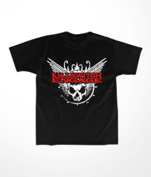 Camiseta Infantil Killswitch Engage Skull Logo