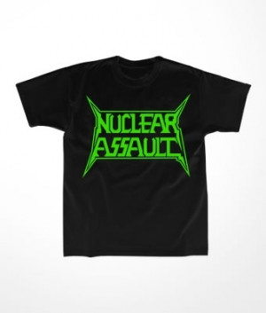 Camiseta Infantil Nuclear Assault