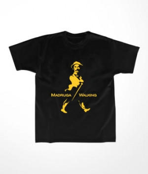 Camiseta Infantil Madruga Walking