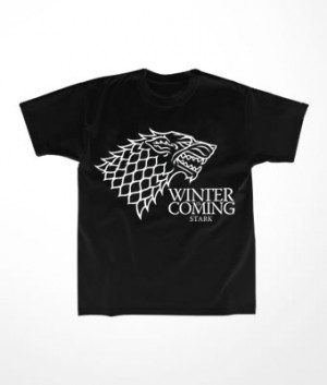 Camiseta Infantil Winter is Coming