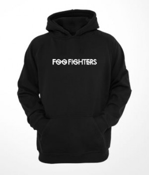 Moletom c/ capuz e bolso Foo Fighters