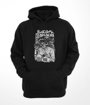 Moletom c/ capuz e bolso Suicidal Tendencies