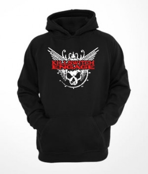 Moletom capuz e bolso Killswitch Engage Skull Logo