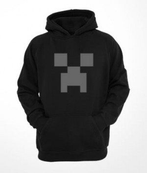 Moletom Canguru Creeper Minecraft