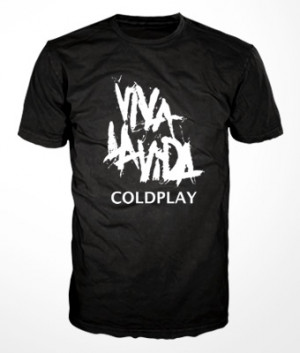 Camiseta Coldplay
