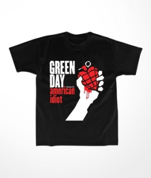 Camiseta Infantil Green Day