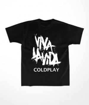 Camiseta Infantil Coldplay