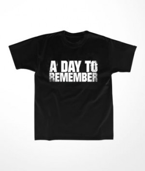 Camiseta Infantil A Day to Remember