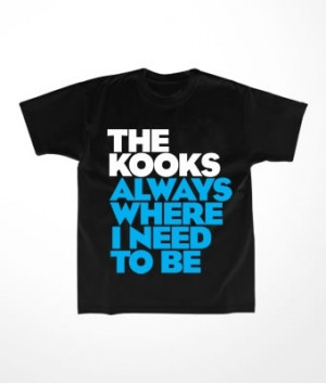 Camiseta Infantil The Kooks