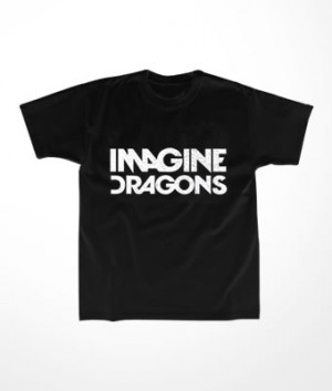 Camiseta Infantil Imagine Dragons