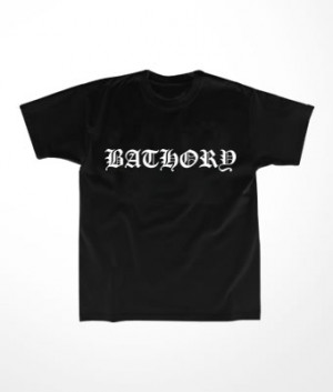 Camiseta Infantil Bathory