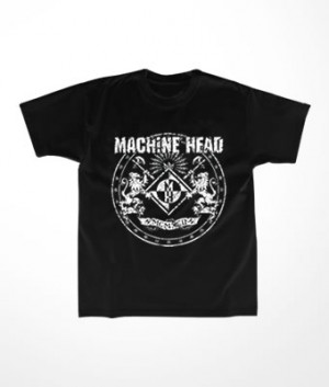 Camiseta Infantil Machine Head