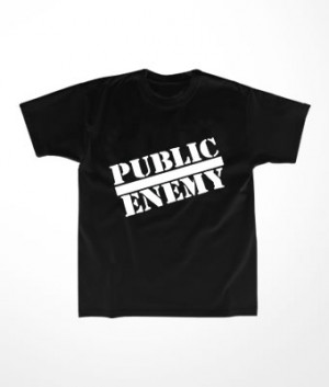 Camiseta Infantil Public Enemy