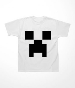 Camiseta Infantil Creeper Minecraft