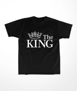 Camiseta Infantil The King