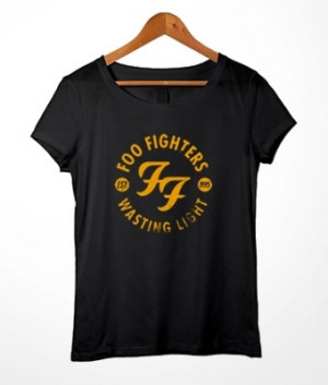 Long Baby Look Foo Fighters