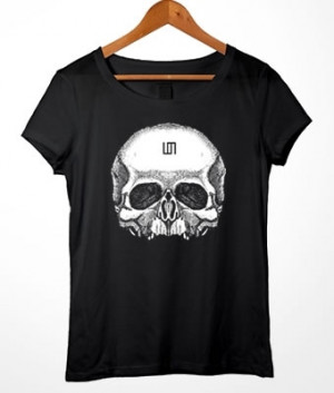 Long Baby Look 30 Seconds to Mars Skull