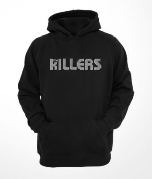 Moletom c/ capuz e bolso The Killers