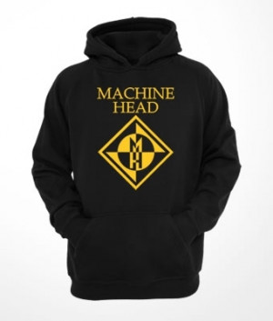 Moletom c/ capuz e bolso Machine Head