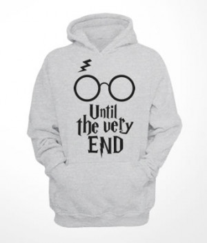 Moletom Canguru Harry Potter Until the very End