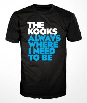 Camiseta The Kooks