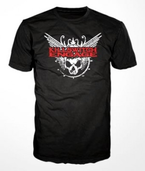 Camiseta Killswitch Engage Skull Logo