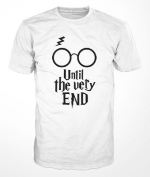 Camiseta Harry Potter Until the very End