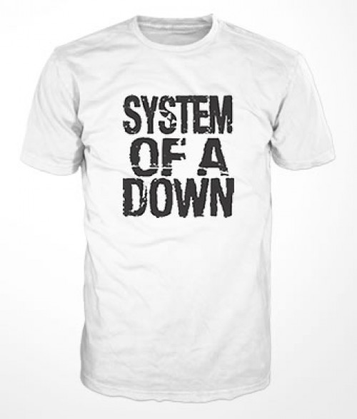 Camiseta System of a Down Logo